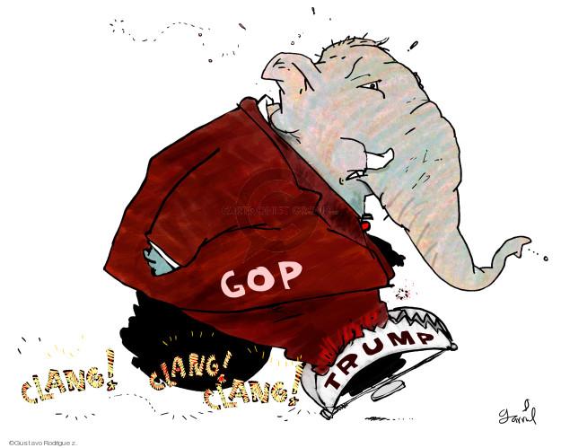 Gustavo Rodriguez  Garrincha's Editorial Cartoons 2018-06-10 political party