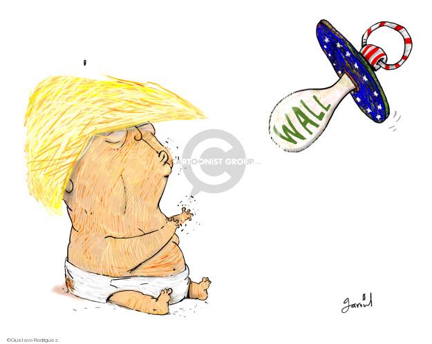 Gustavo Rodriguez  Garrincha's Editorial Cartoons 2019-02-14 policy