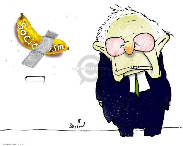 Gustavo Rodriguez  Garrincha's Editorial Cartoons 2019-12-10 2020 election
