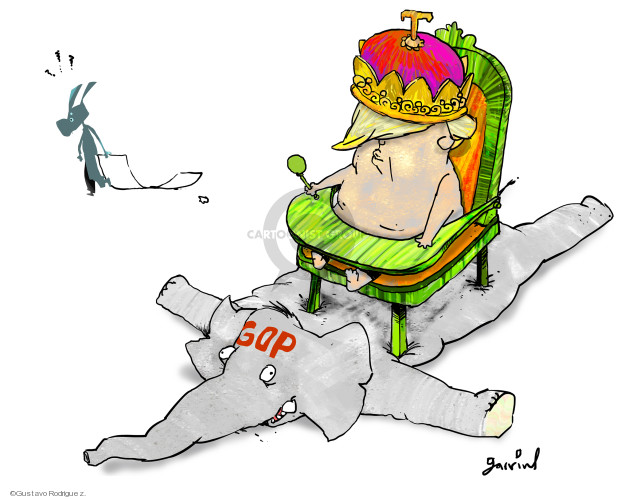 Gustavo Rodriguez  Garrincha's Editorial Cartoons 2020-02-02 senator