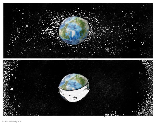 Gustavo Rodriguez  Garrincha's Editorial Cartoons 2020-02-28 coronavirus
