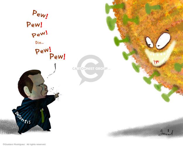 Gustavo Rodriguez  Garrincha's Editorial Cartoons 2020-07-23 coronavirus