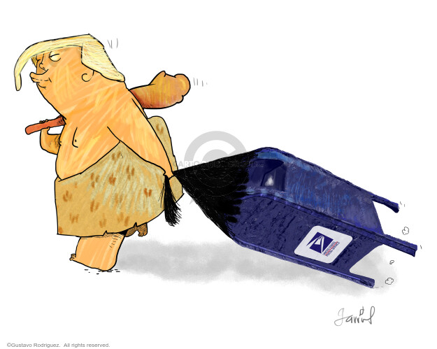 Gustavo Rodriguez  Garrincha's Editorial Cartoons 2020-08-18 Presidency