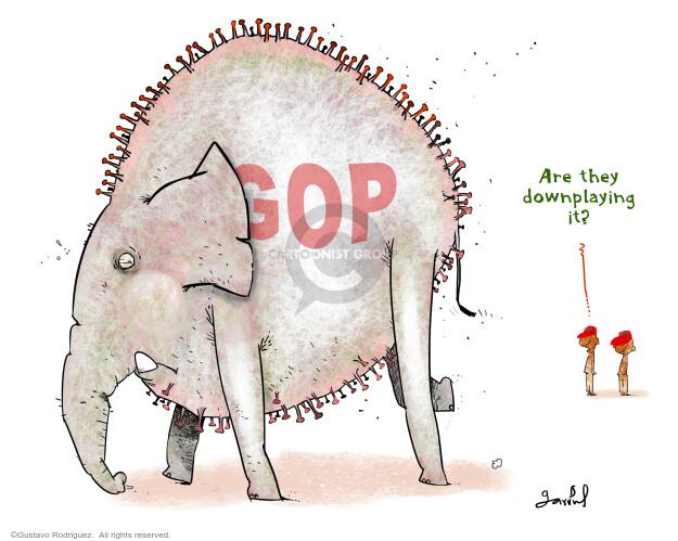 Gustavo Rodriguez  Garrincha's Editorial Cartoons 2020-10-03 coronavirus