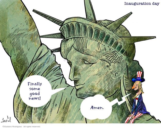 Gustavo Rodriguez  Garrincha's Editorial Cartoons 2021-01-17 2020 Election Joe Biden
