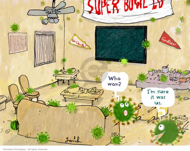Gustavo Rodriguez  Garrincha's Editorial Cartoons 2021-02-07 coronavirus