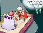 Cartoonist Gustavo Rodriguez  Garrincha's Editorial Cartoons 2012-01-26 2012 primary