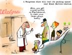 Cartoonist Gustavo Rodriguez  Garrincha's Editorial Cartoons 2012-03-30 baseball stadium