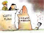 Cartoonist Gustavo Rodriguez  Garrincha's Editorial Cartoons 2012-04-12 North Korea