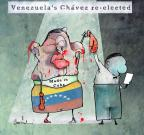 Cartoonist Gustavo Rodriguez  Garrincha's Editorial Cartoons 2012-10-08 Hugo Chavez