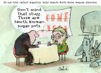 Gustavo Rodriguez  Garrincha's Editorial Cartoons 2013-07-17 North Korea