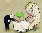 Cartoonist Gustavo Rodriguez  Garrincha's Editorial Cartoons 2013-08-22 wait