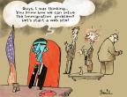 Cartoonist Gustavo Rodriguez  Garrincha's Editorial Cartoons 2013-11-05 reform