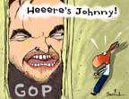 Cartoonist Gustavo Rodriguez  Garrincha's Editorial Cartoons 2014-11-07 2014