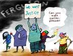 Cartoonist Gustavo Rodriguez  Garrincha's Editorial Cartoons 2014-11-25 shooting