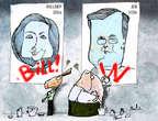 Cartoonist Gustavo Rodriguez  Garrincha's Editorial Cartoons 2015-06-16 2016 election Jeb Bush