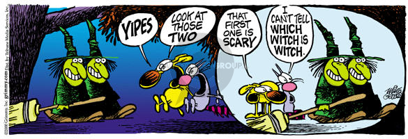 Comic Strip Mike Peters  Mother Goose and Grimm 2000-10-23 distinguish