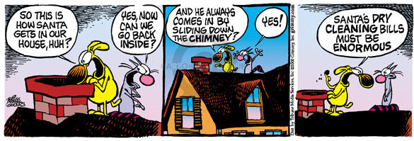 Comic Strip Mike Peters  Mother Goose and Grimm 2000-12-20 dirty clothes