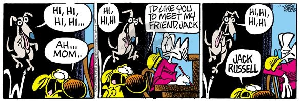 Comic Strip Mike Peters  Mother Goose and Grimm 2005-01-03 bounce