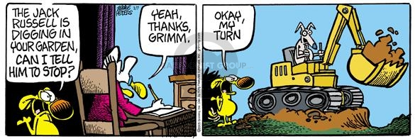 Comic Strip Mike Peters  Mother Goose and Grimm 2005-01-07 yeah