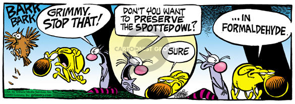 Comic Strip Mike Peters  Mother Goose and Grimm 2002-01-24 cat dog