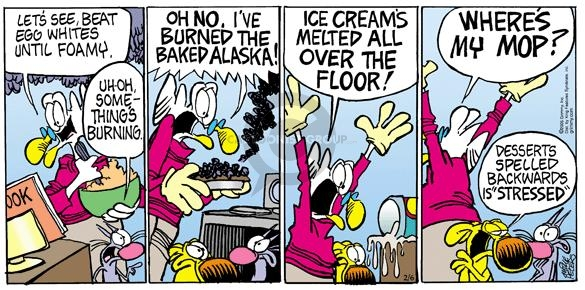 Cartoonist Mike Peters  Mother Goose and Grimm 2005-02-06 bake