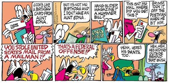 Comic Strip Mike Peters  Mother Goose and Grimm 2005-02-13 offense