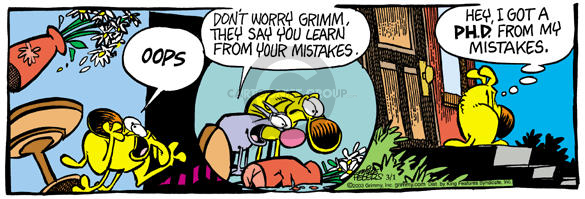 Cartoonist Mike Peters  Mother Goose and Grimm 2003-03-01 Attila