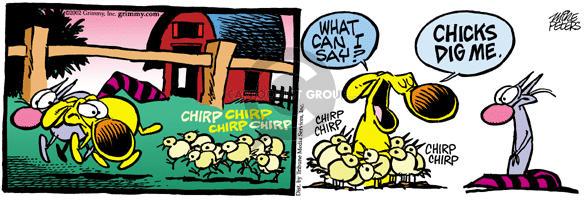 Comic Strip Mike Peters  Mother Goose and Grimm 2002-03-02 barnyard animal