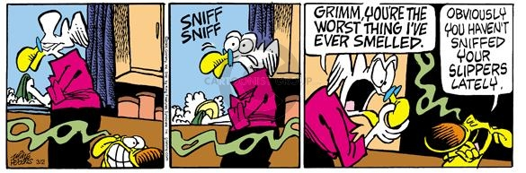 Cartoonist Mike Peters  Mother Goose and Grimm 2005-03-02 worst