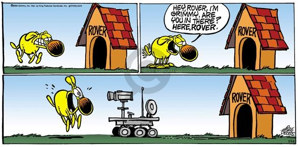 Comic Strip Mike Peters  Mother Goose and Grimm 2004-03-14 house