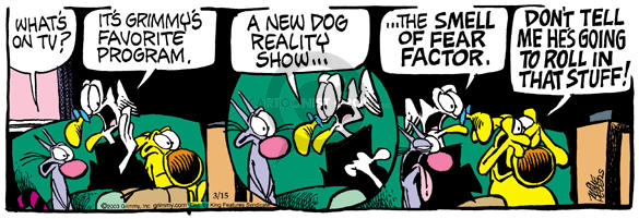 Comic Strip Mike Peters  Mother Goose and Grimm 2003-03-15 television show