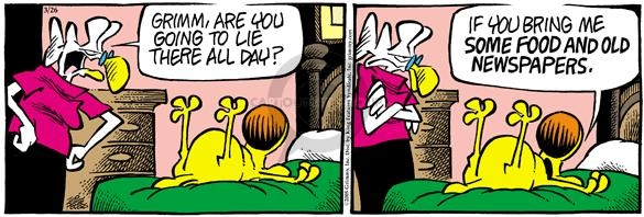Comic Strip Mike Peters  Mother Goose and Grimm 2005-03-26 immobile