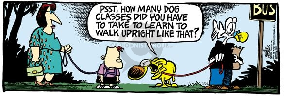 Comic Strip Mike Peters  Mother Goose and Grimm 2004-03-29 mobility