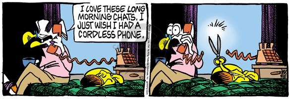 Comic Strip Mike Peters  Mother Goose and Grimm 2004-04-02 chat