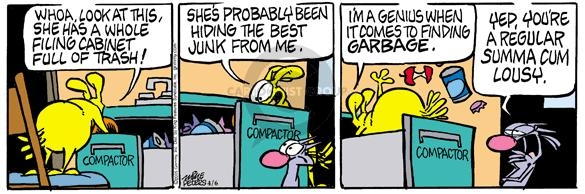 Comic Strip Mike Peters  Mother Goose and Grimm 2005-04-06 genius