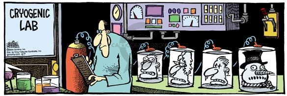 Comic Strip Mike Peters  Mother Goose and Grimm 2004-04-07 ice