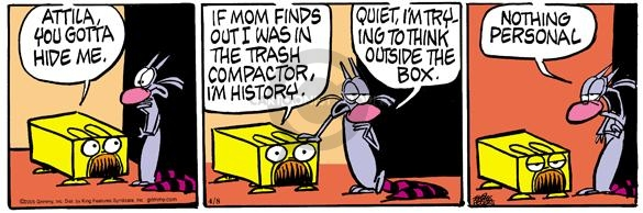 Comic Strip Mike Peters  Mother Goose and Grimm 2005-04-08 shape