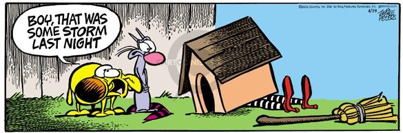 Comic Strip Mike Peters  Mother Goose and Grimm 2005-04-19 dog movie
