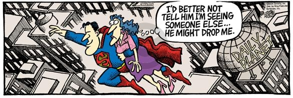 Comic Strip Mike Peters  Mother Goose and Grimm 2004-04-21 romance