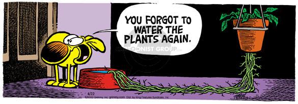Cartoonist Mike Peters  Mother Goose and Grimm 2003-04-22 seek
