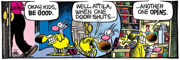 Comic Strip Mike Peters  Mother Goose and Grimm 2004-04-22 opportunity