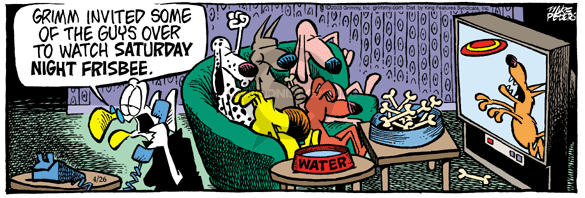 Comic Strip Mike Peters  Mother Goose and Grimm 2003-04-26 drink