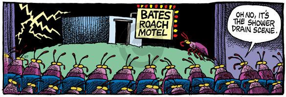 Bates Roach Motel.  Oh no, its the shower drain scene.