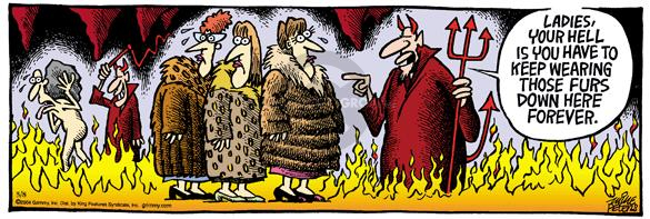 Comic Strip Mike Peters  Mother Goose and Grimm 2004-05-08 warmth