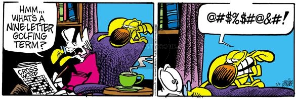 Comic Strip Mike Peters  Mother Goose and Grimm 2005-05-09 golf