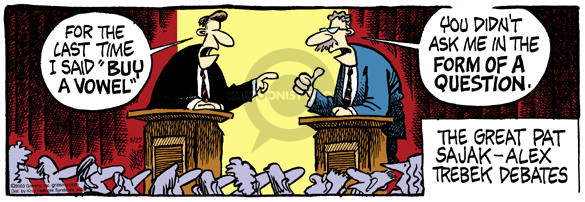 Comic Strip Mike Peters  Mother Goose and Grimm 2003-05-27 debate