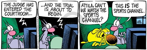 Comic Strip Mike Peters  Mother Goose and Grimm 2005-06-02 television audience