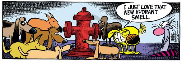 Comic Strip Mike Peters  Mother Goose and Grimm 2004-06-05 bathroom