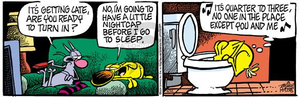 Comic Strip Mike Peters  Mother Goose and Grimm 2004-06-10 sleep